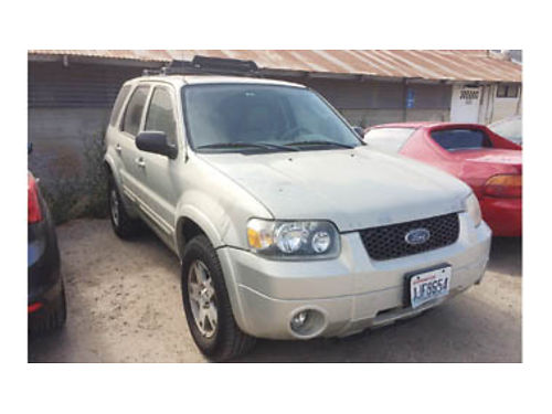2004 FORD ESCAPE LIMITED 136000 miles Needs catalytic converter 2000 Purchase supports local v