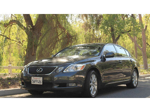 2007 LEXUS GS350 - 35L V6 6 spd auto dual pleather seats Mark Levinson 6 CD NavBluetooth pwd