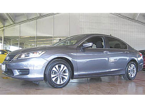 2013 HONDA ACCORD LX Local trade only 22K miles 15494 77402T189363 Pre-owned SANTA MARIA C