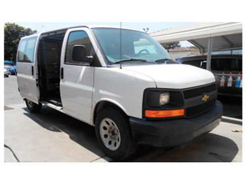 2012 CHEVY EXPRESS AT V6 43 1 owner full service history 10995 134589 SBCARCO 1001 West