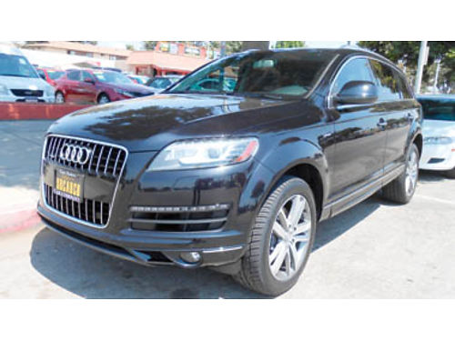 2014 AUDI Q7 PREMIUM PLUS AT V6 super charged mint cond 1 owner 49K mi 36950 005102 SBCA