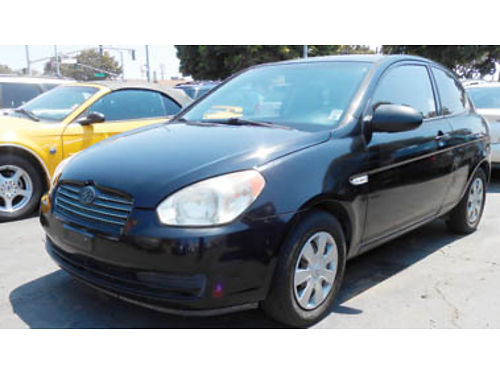 2007 HYUNDAI ACCENT GS 4995 027556 SBCARCO 1001 West Main St Santa Maria 805-614-7790 Matri