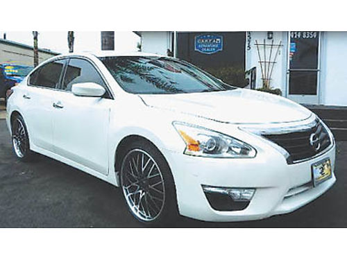 2014 NISSAN ALTIMA 25S new whls  tires gas sipper super clean 12995 8906284124 CENTRAL C