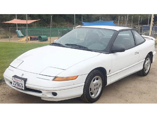 1995 SATURN SC2 165K miles 4 cyl AT 2 door passed smog 82117 Has newer tires new radiator a