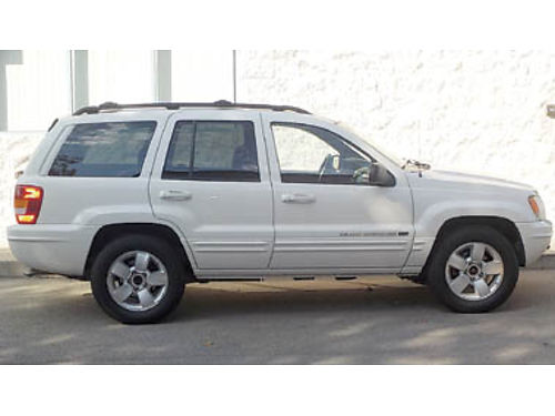 2001 JEEP CHEROKEE LAREDO 86K miles 4WD front  rear tow pkg fully serviced  maintained power