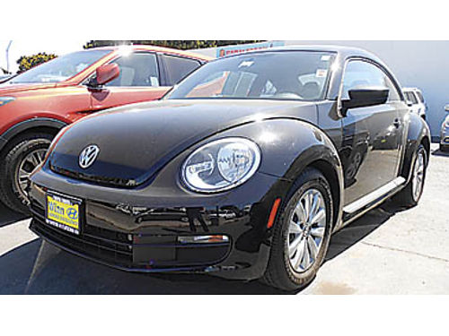 2015 VOLKSWAGEN BEETLE 18 turbo low miles auto prior rental 10995 P2105R644666 Only at W