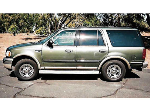 2001 FORD EXPEDITION 54L Auto orig owner only 73K mi Eddie Bauer model tow pkg 4x4 3rd seat