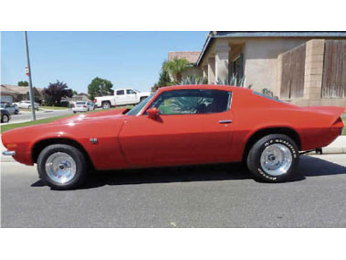 1972 CAMARO SSRS - 75 restored many new and restored features  equip 350 wstroker kit headers