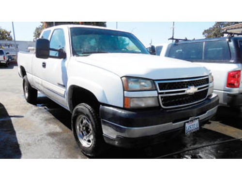 2006 CHEVY SILVERADO 2500 HD 5 speed 169700 8995 SBCARCO 1001 West Main St Santa Maria 805-