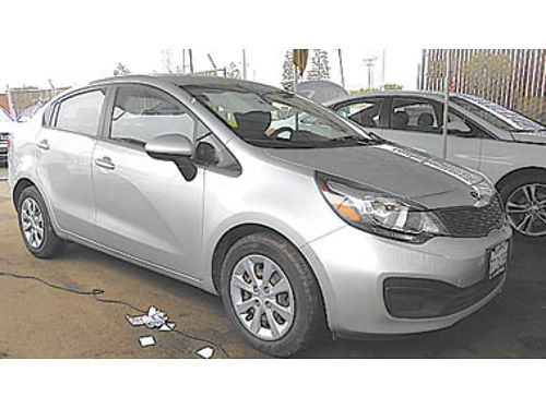 2013 KIA RIO LX great mpg 7995 P2234137799 Only at WINN HYUNDAI of Santa Maria 805-349-8500