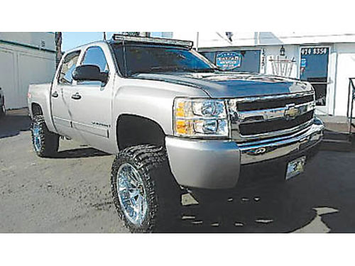 2008 CHEVY SILVERADO CREW CAB 4x4 lifted new tires 18995 8924122442 CENTRAL COAST CAR CO