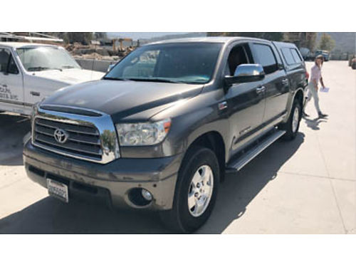 2007 TOYOTA TUNDRA CREWMAX LMTD - 57L plthr sts mnrf 6MP3 shell  l463412 Our Price 16995