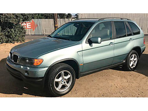 2003 BMW X5 93K miles 2 owners very clean ice cold air newer tires clean CarFax leather moon