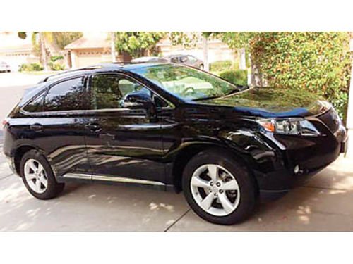 2011 LEXUS RX350 - 35L 6spd AT Plthr htdcld seats mnrf Prem pkg Bluetooth BU cam alloys