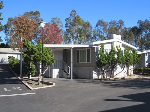 SPACE 185 1974 Dualwide 24 x 60 1440 sq ft gorgeous mobile home This home sits on a corner lo