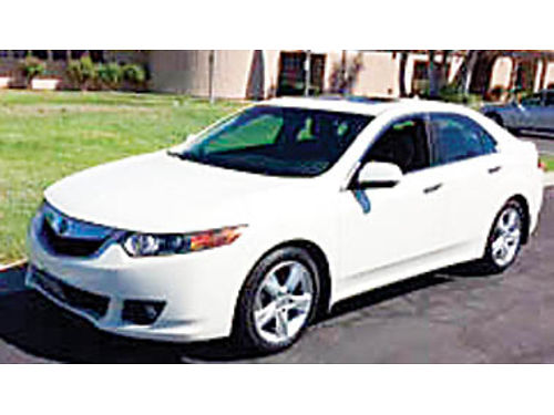 2010 ACURA TSX 4 dr 71K in perfect cond all power leather sunroof nav CD dealer serviced n