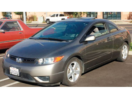 2007 HONDA CIVIC 2 door coupe AT AC 2nd owner 186K Hwy smogged with new tags runs great well