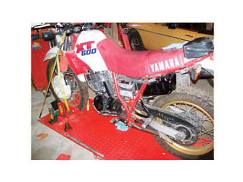 1987 YAMAHA XT600 Owned by mechanic- in great condition 1300