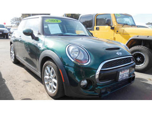 2015 MINI COOPER S only 20K miles 15995 A58903 SBCARCO 1001 West Main St Santa Maria 805-6