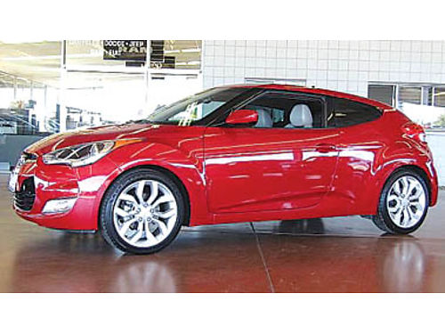 2013 HYUNDAI VELOSTER low miles auto Reduced to 11494 102988T157644 Pre-owned SANTA MARIA