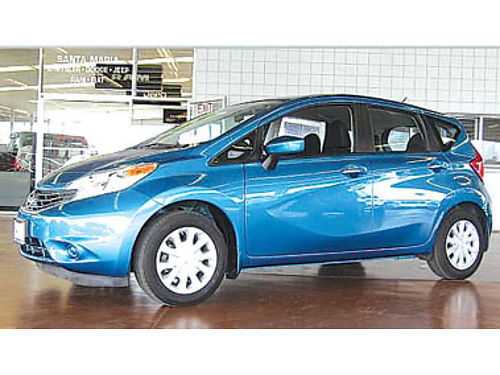 2015 NISSAN VERSA NOTE SV auto only 14K miles 11994 103382P441880 Pre-owned SANTA MARIA CH