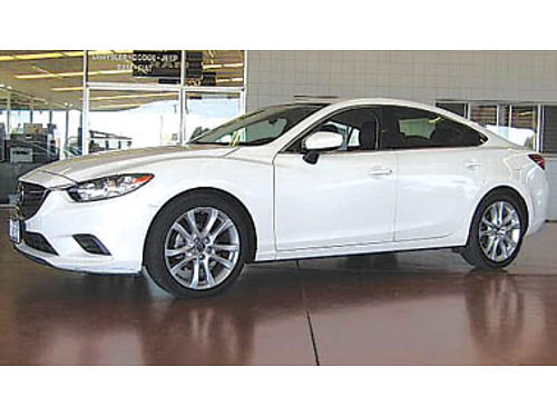 2014 MAZDA 6i TOURING auto clean car 12994 100605T129558 Pre-owned SANTA MARIA CHRYSLER DO