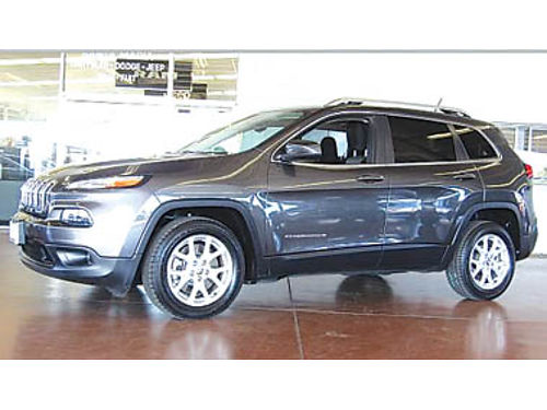 2014 JEEP CHEROKEE LATITUDE low miles Reduced to 15994 1033389P323500 Pre-owned SANTA MARIA