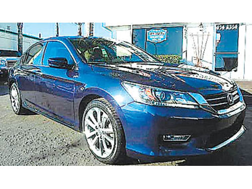 2014 HONDA ACCORD SPORT 2 to choose from one owner clean CarFax sport pkg backup camera 1475