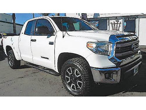 2014 TOYOTA TUNDRA Dble Cab 4x4 backup camera SR5 TRD pkg 25495 8930330204 CENTRAL COAST