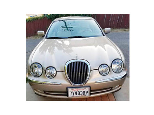 2000 JAGUAR S-TYPE 30 V6 Automatic 116K miles CD leather sunroof looks nice inside  out ver