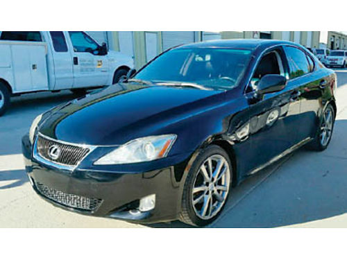 2008 LEXUS IS 250 SPORT - 25L V6 6spd at clmt cntrl navblue snsrs htd lthr mnrf083708 1
