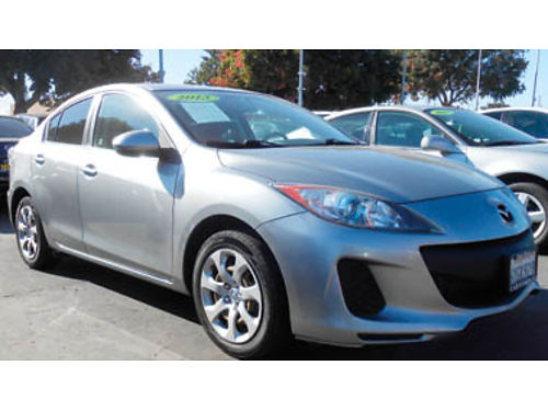 2013 MAZDA 3I SPORT 58K miles one owner 4cyl mint condition 10995 701337 SBCARCO 1001 Wes