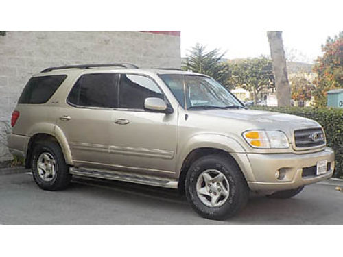 2002 TOYOTA SEQUOIA Automatic trans well maintained- New tires timing belt water pumps belts A