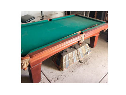 8 FT POOL TABLE for sale 550 Call 805-260-0505