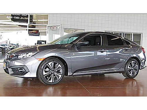 2017 HONDA CIVIC EX-T only 7K miles Wow 21988 107523T647208 Pre-owned SANTA MARIA CHRYSLER