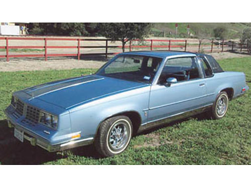 1981 OLDSMOBILE CUTLASS SUPREME Classic Ready for show 2 Dr hardtop 305 V8 97K miles power eve