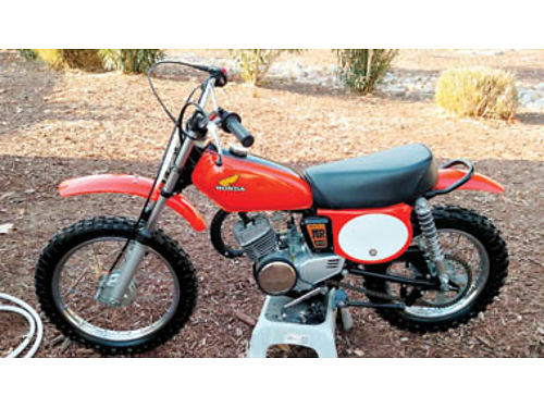 1974 HONDA MR50 ELSINORE very rare bike manufactured in 7475 only Completely restored inside a