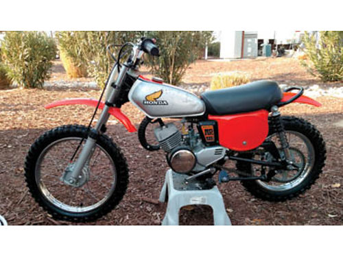1975 HONDA MR50 ELSINORE very rare bike manufactured in 7475 only Completely restored inside a