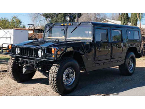 1993 HUMMER H1 SPORT UT WGN 4X4 - 62L diesel at ac lthr ps tow roof alloys134501 27993