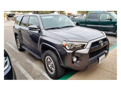 2015 TOYOTA 4RUNNER - 56K miles loaded upgraded leather interior  TRD wheels