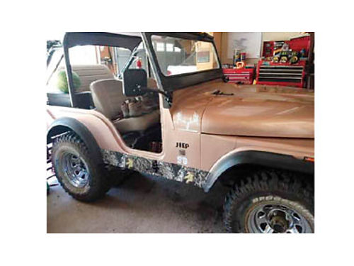 1968 JEEP CJ 5 New truck 4 speed New carb Tires are in perfect condition Winch is original just
