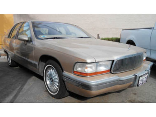 1993 BUICK ROADMASTER 57L 112K miles 2500 C56432 CALIFORNIACAR SALES 305 N Broadway Santa
