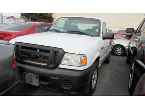 2008 FORD RANGER XL great price - must see 5995 A74293 SBCARCO 1001 West Main St Santa Maria