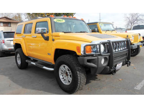 2007 HUMMER H3 AT PW Pseat CD PDL leather mint cond 1 owner 11995 140263 SBCARCO 100