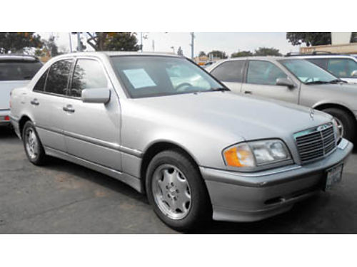 2000 MERCEDES C280 86K miles mint condition 4995 844616 SBCARCO 1001 West Main St Santa Mar