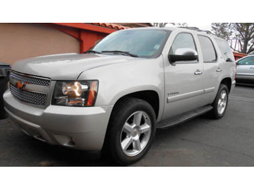2007 CHEVY TAHOE LTZ 4x4 loaded mint condition 8 passenger 14995 361261 SBCARCO 1001 West