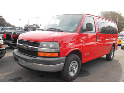 2006 CHEVY EXPRESS LS 12 pass mint condition only 70K miles 10995 270291SBCARCO 1001 West