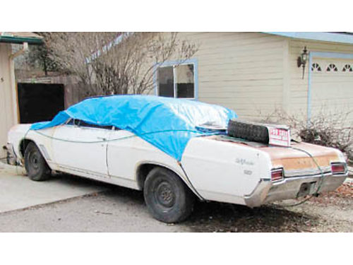 1967 BUICK needs work 4800 Call Jose for info at 805-975-8030