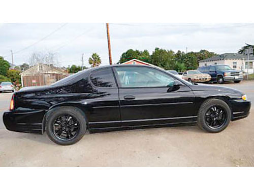 2003 SS MONTE CARLO Mechanics Special int in very good cond ext in very good cond new tires cu