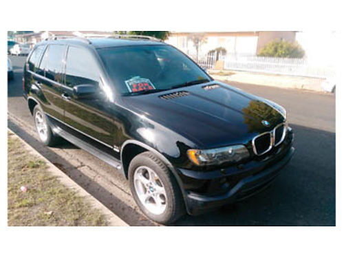 2001 BMW X5 AT leather sunroof all power 180K well maintained really good car 4000